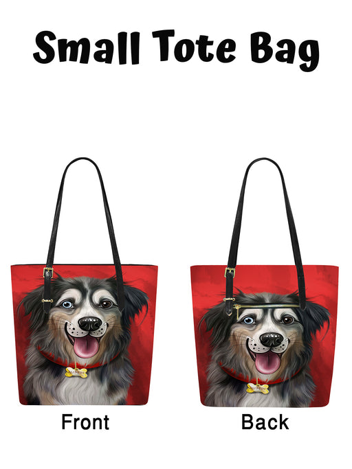 Add Your PERSONALIZED PET Painting Portrait on Euramerican Tote Bag Small