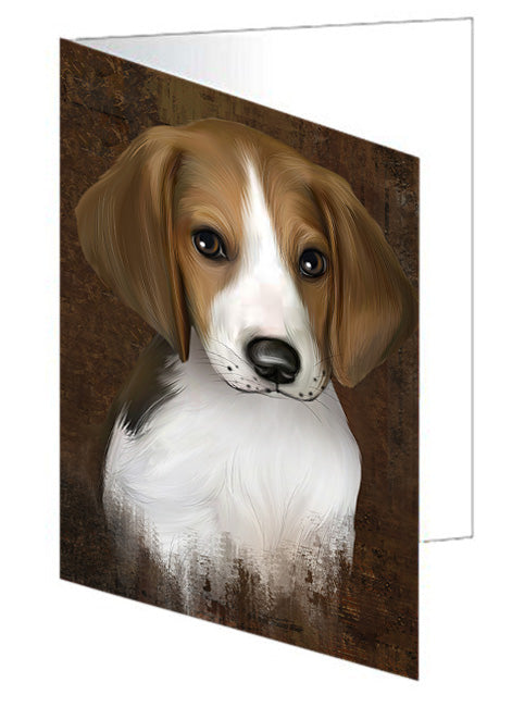 Rustic Treeing Walker Coonhound Dog Greeting Card GCD67511