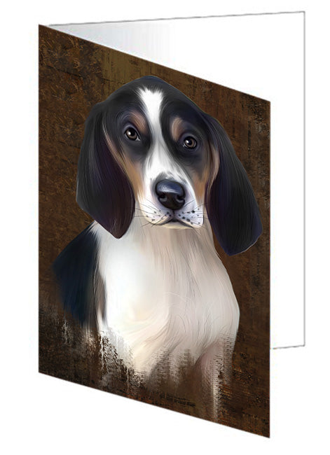 Rustic Treeing Walker Coonhound Dog Greeting Card GCD67514