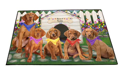 Spring Dog House Vizslas Dog Floormat FLMS50337