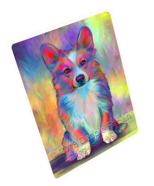 "Paradise Wave Welsh Corgi Dog Magnet MAG75369 (Small 5.5"" x 4.25"")"