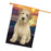 Wheaten Terrier Dog House Flag FLG51927