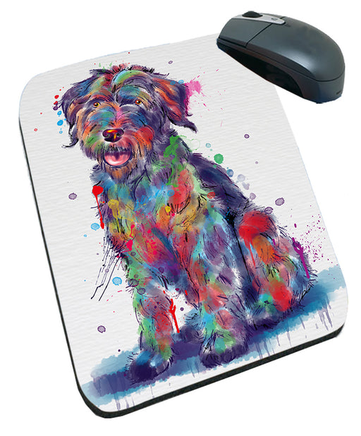 Watercolor Wirehaired Pointing Griffon Dog Mousepad MPD57573