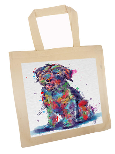 Watercolor Wirehaired Pointing Griffon Dog Tote TTE57573
