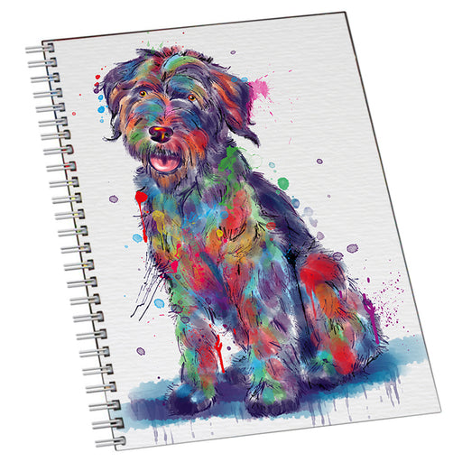 Watercolor Wirehaired Pointing Griffon Dog Notebook NTB55755