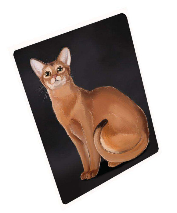 "Abyssinian Cat Magnet Mini (3.5"" x 2"")"