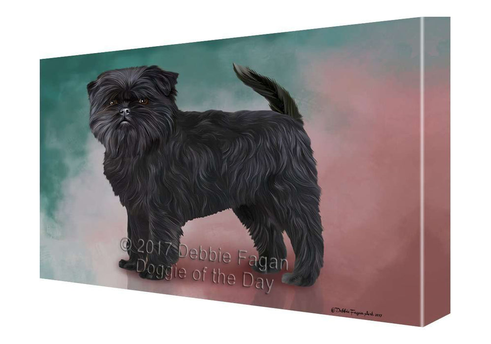 Affenpinscher Dog Canvas Wall Art D141