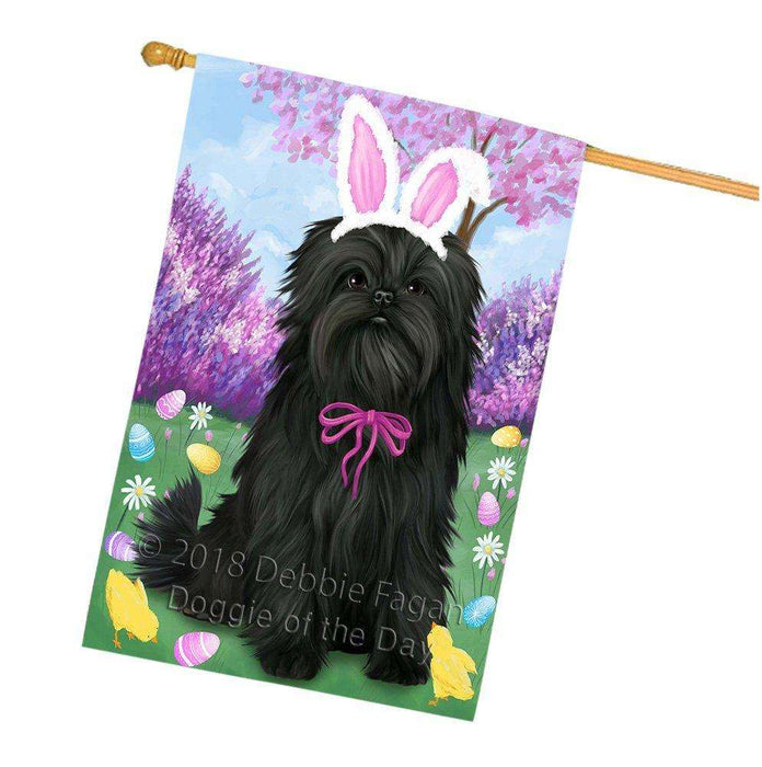 Affenpinscher Dog Easter Holiday House Flag FLG48988