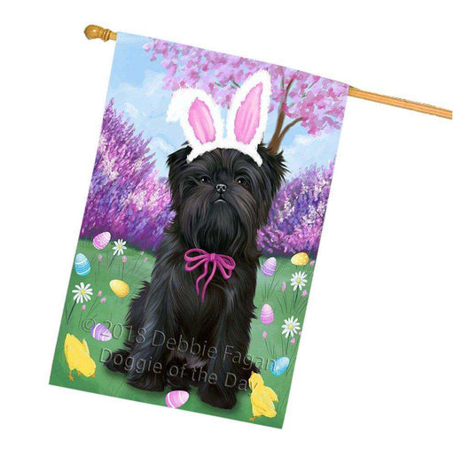 Affenpinscher Dog Easter Holiday House Flag FLG48989