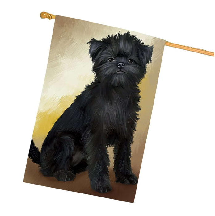 Affenpinscher Dog House Flag
