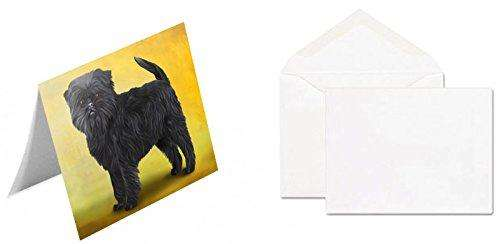 Affenpinscher Dog Note Card