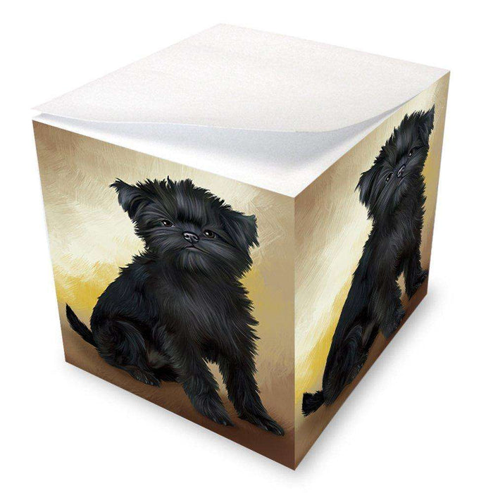 Affenpinscher Dog Note Cube