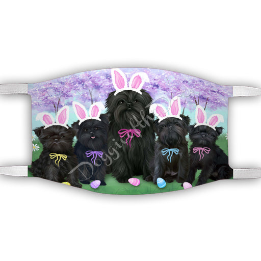 Easter Holiday Affenpinscher Dogs Face Mask FM49560