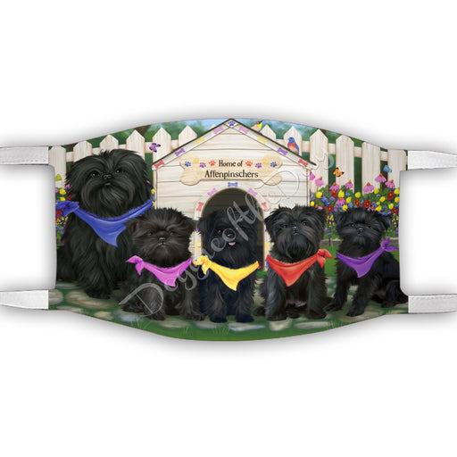 Spring Dog House Affenpinscher Dogs Face Mask FM48755
