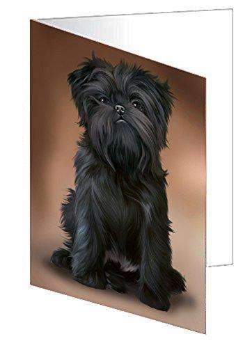 Affenpinschers Dog Greeting Card D223