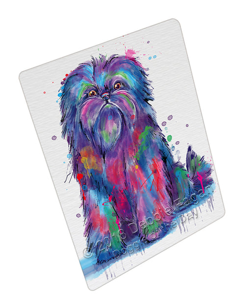 Watercolor Affenpinscher Dog Refrigerator / Dishwasher Magnet RMAG104796