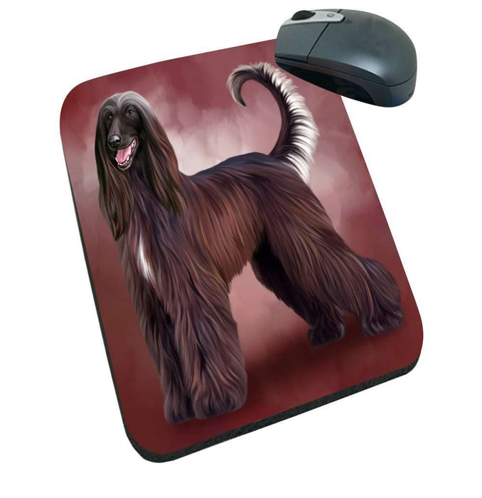 Afghan Hound Dog Mousepad