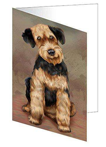 Airedale Dog Greeting Card