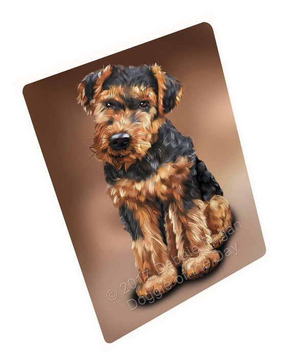 "Airedale Dog Magnet Mini (3.5"" x 2"")"
