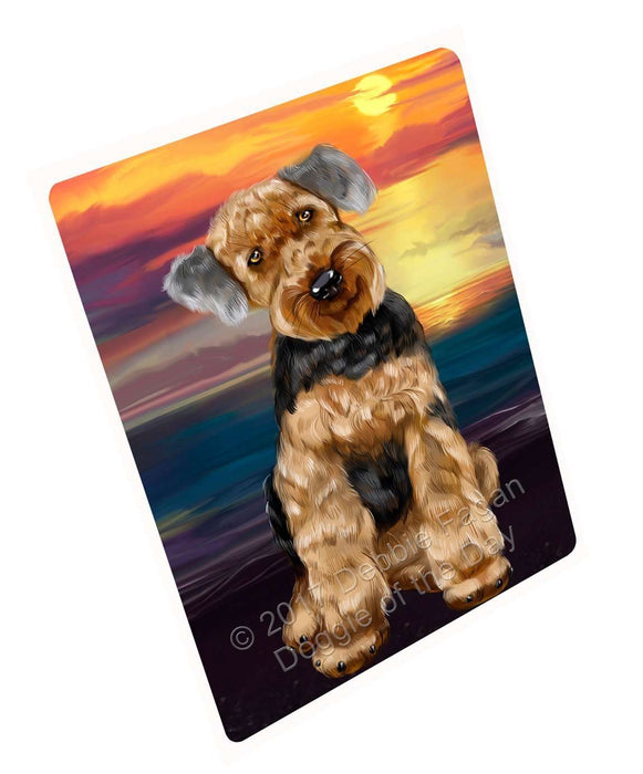 Airedale Dog Magnet
