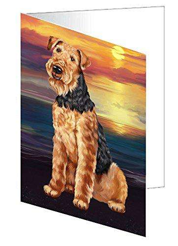 Airedale Dog Note Card