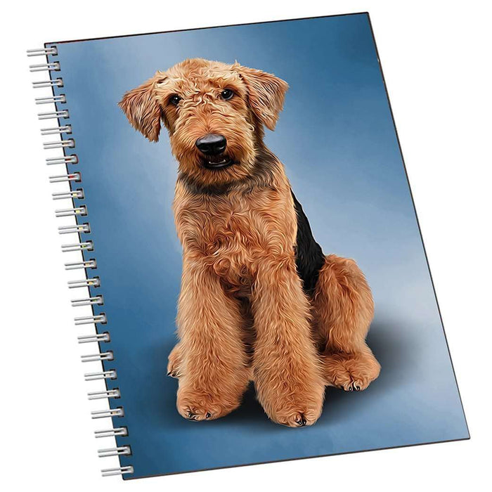 Airedale Terrier Dog Notebook