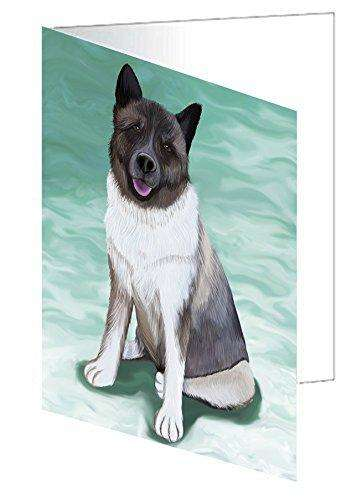 Akita Dog Greeting Card