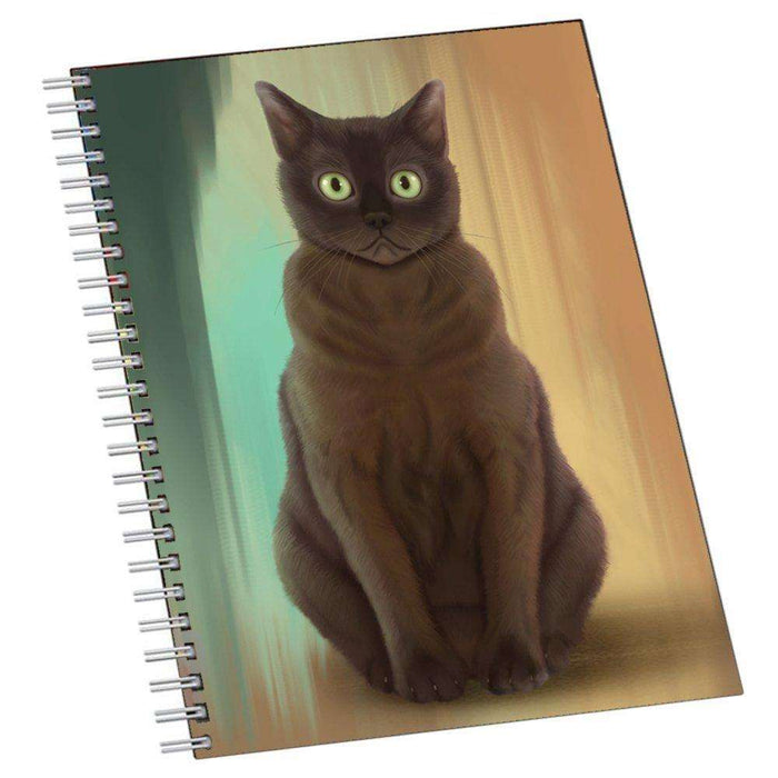 American Bermese Zibeline Cat Notebook