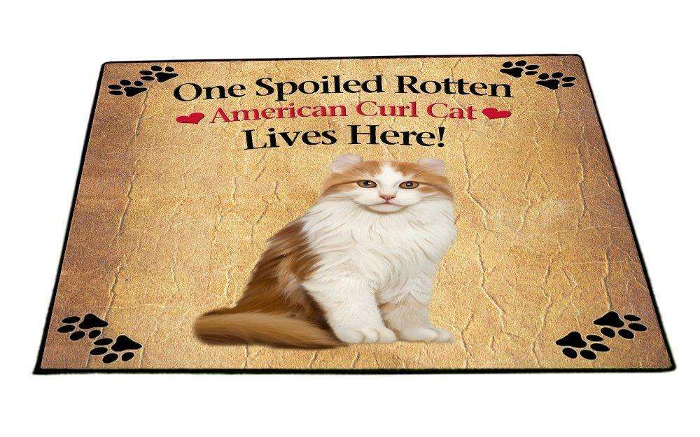 American Curl Spoiled Rotten Cat Indoor/Outdoor Floormat