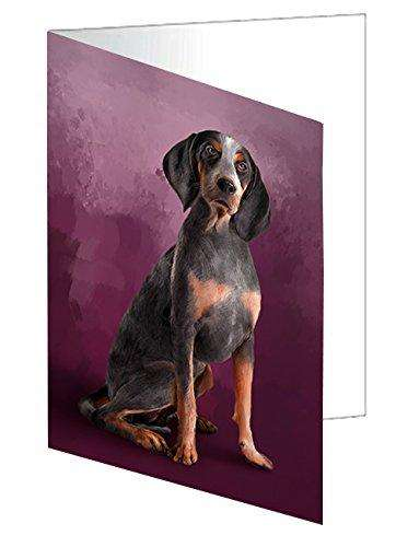 American English Coonhound Dog Greeting Card