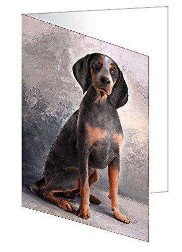 American English Coonhound Dog Note Card