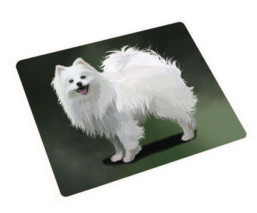 "American Eskimo Dog Magnet Mini (3.5"" x 2"")"