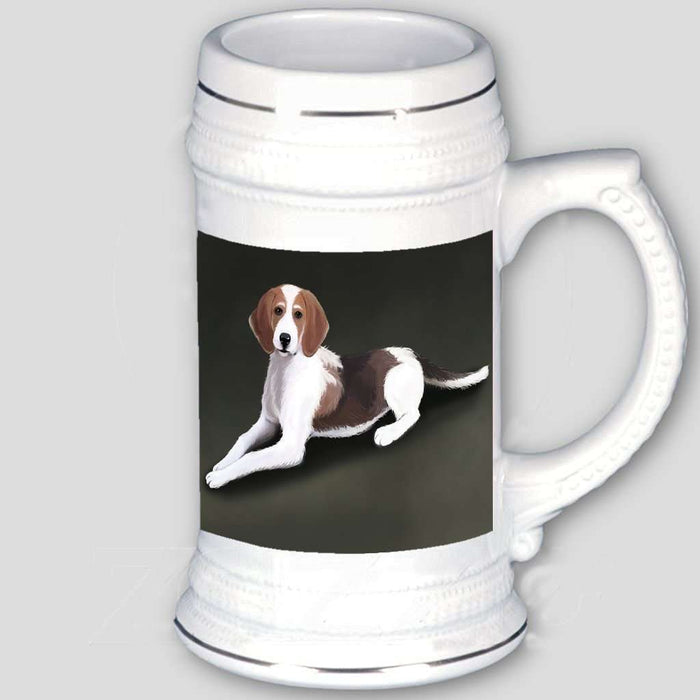 American Foxhound Dog Beer Stein