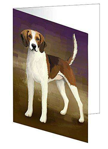 American Foxhound Dog Greeting Card