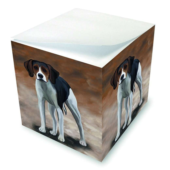 American Foxhound Dog Note Cube
