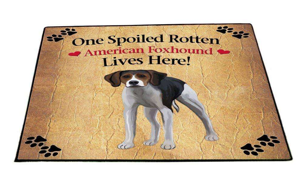 American Foxhound Spoiled Rotten Dog Indoor/Outdoor Floormat