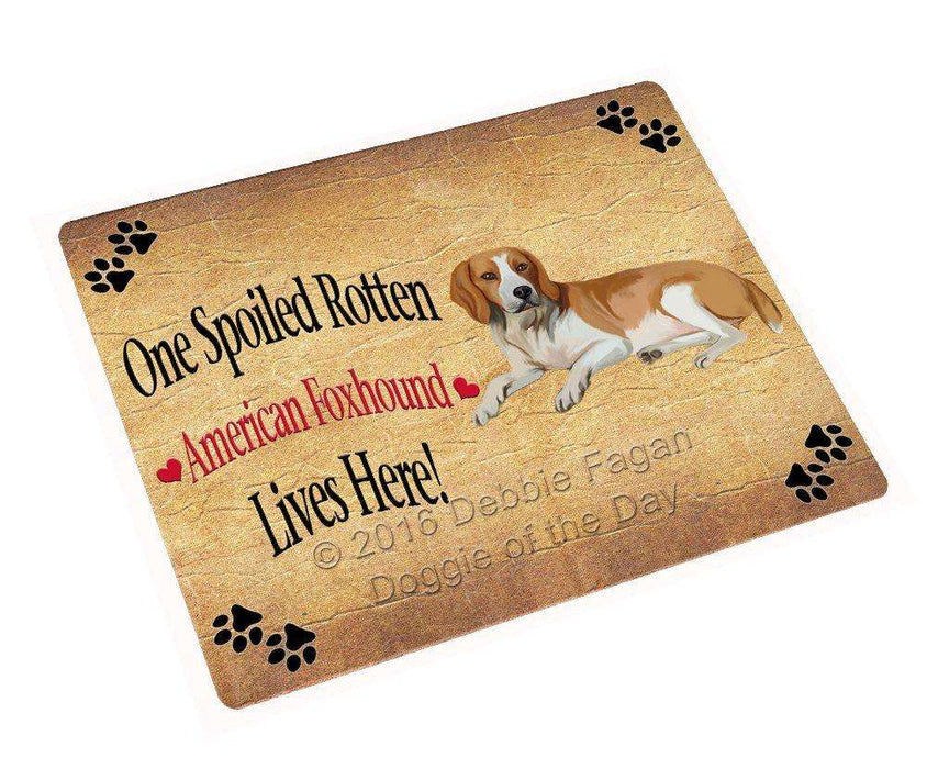 "American Foxhound Spoiled Rotten Dog Magnet Mini (3.5"" x 2"")"