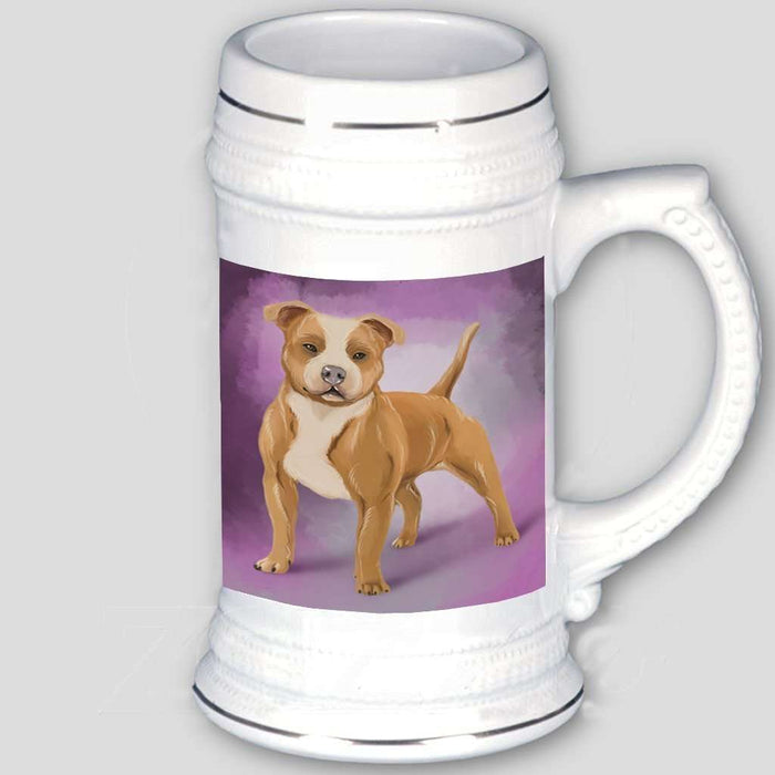 American Staffordshire Dog Beer Stein