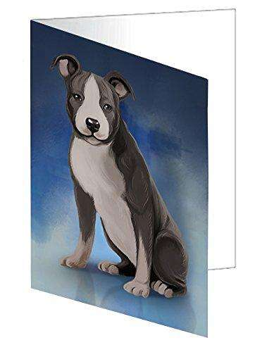 American Staffordshire Dog Note Card