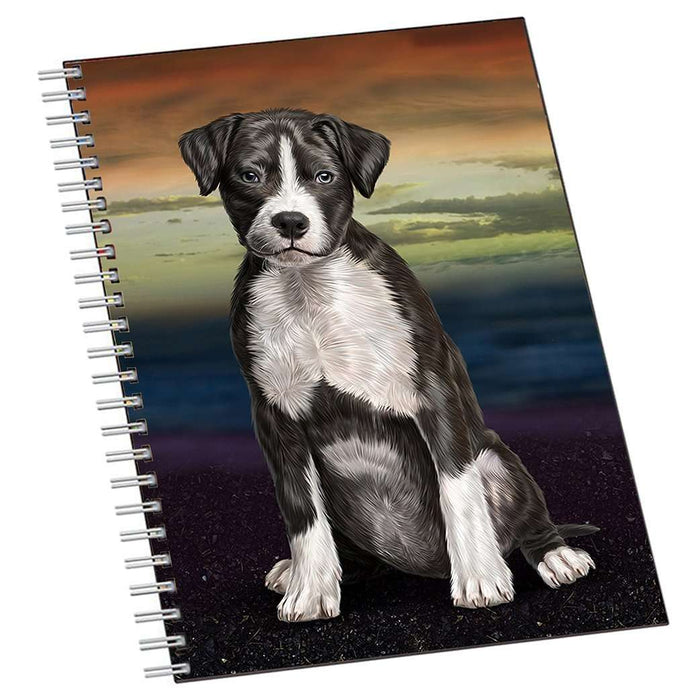 American Staffordshire Dog Notebook