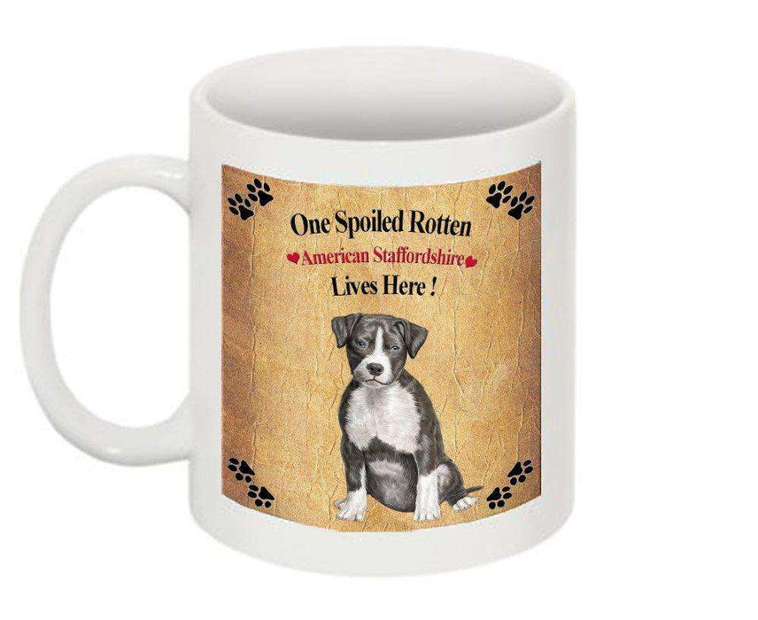 American Staffordshire Spoiled Rotten Dog Mug