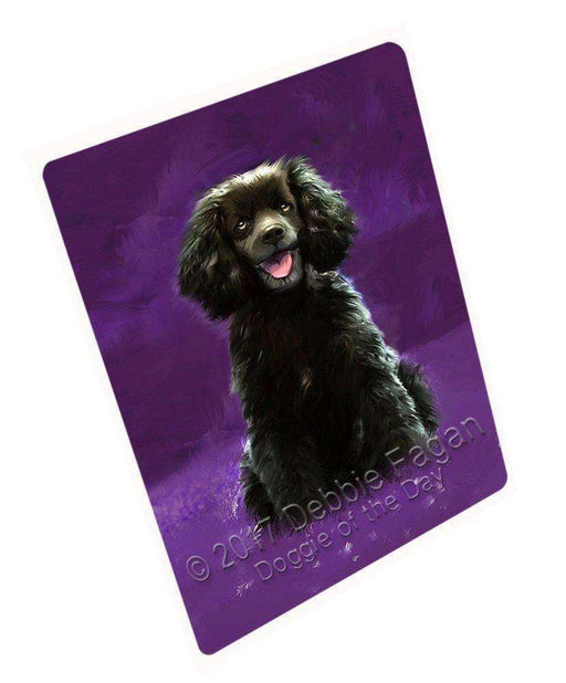 "American Water Spaniel Dog Magnet Small (5.5"" x 4.25"") mg081"