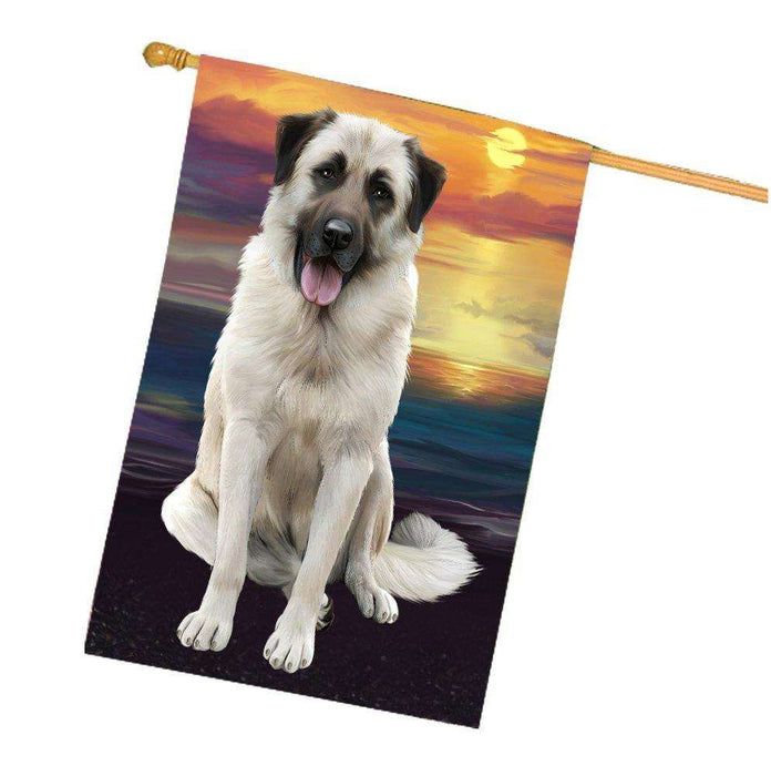 Anatolian Shepherd Dog House Flag HF270