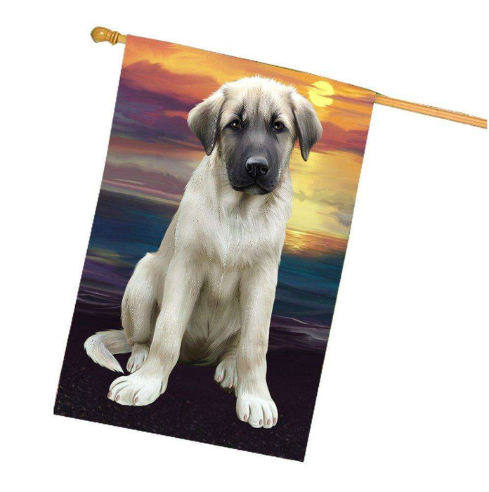 Anatolian Shepherd Dog House Flag HF271