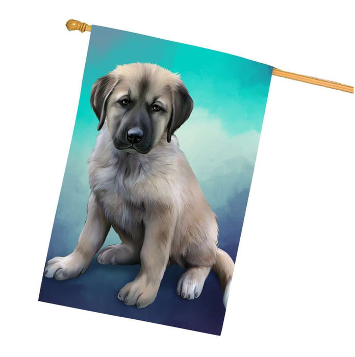 Anatolian Shepherd Dog House Flag