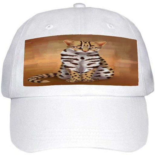 Asian Leopard Cat Ball Hat Cap