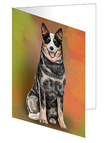 Australian Cattle Adult Dog Greeting Card