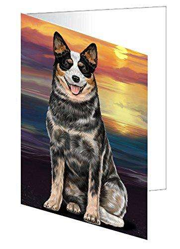 Australian Cattle Dog Greeting Card