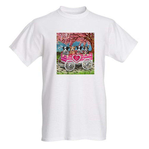 Australian Cattle Mother's Day Dog T-Shirt
