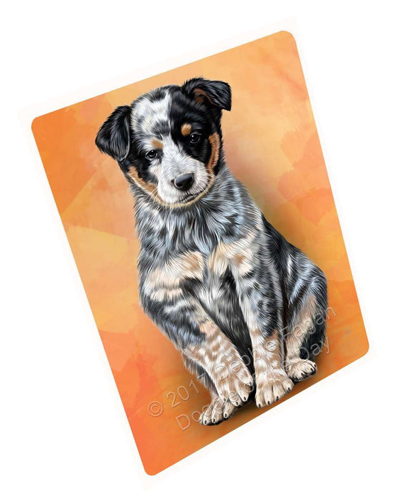 Australian Cattle Puppy Dog Magnet